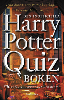 Den inofficiella Harry Potter-quizboken
